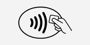 Kontaktlos-Symbol