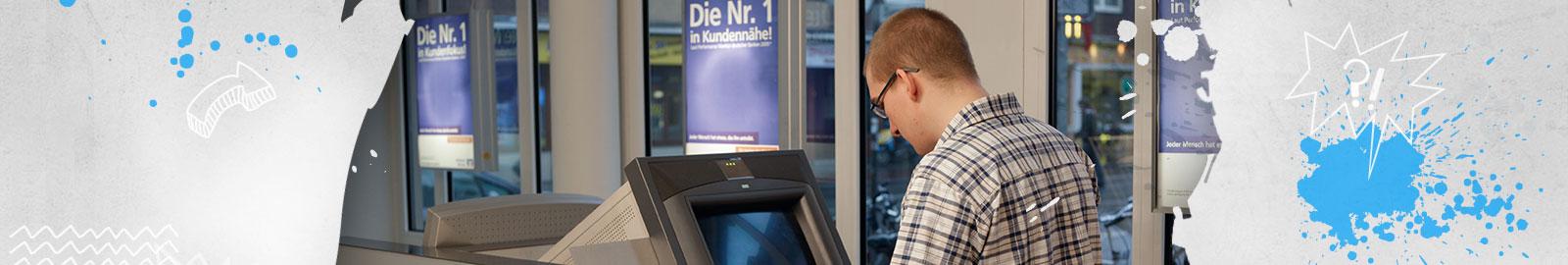 So funktioniert ein Geldautomat