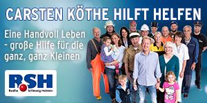 Carsten Köthe hilft helfen 2014